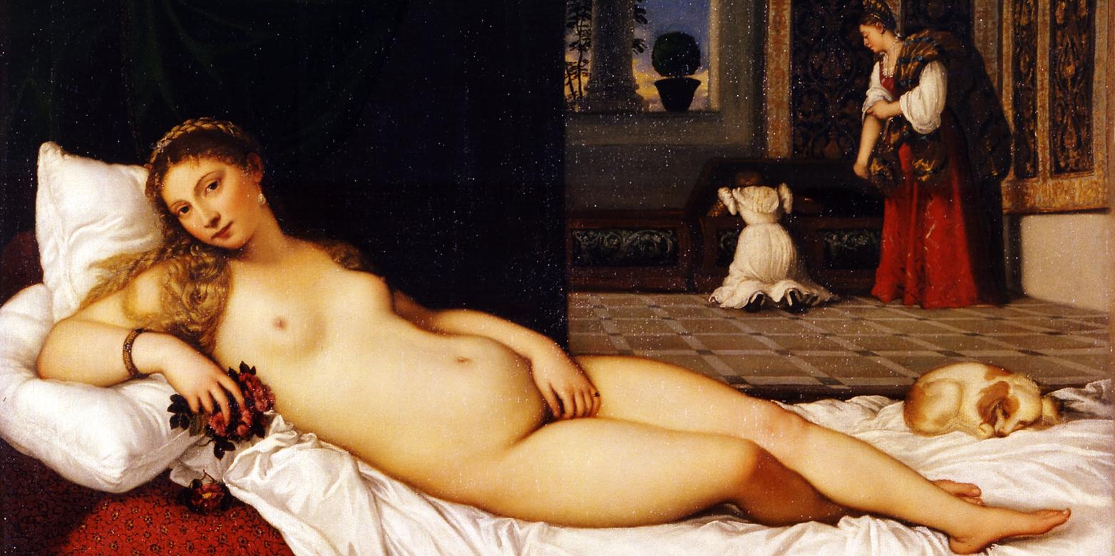 Tiziano, Venere di Urbino, Galleria degli Uffizi