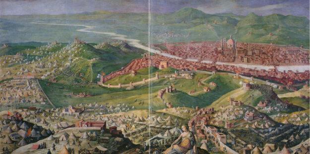 Vasari, Assedio di Firenze, Palazzo Vecchio