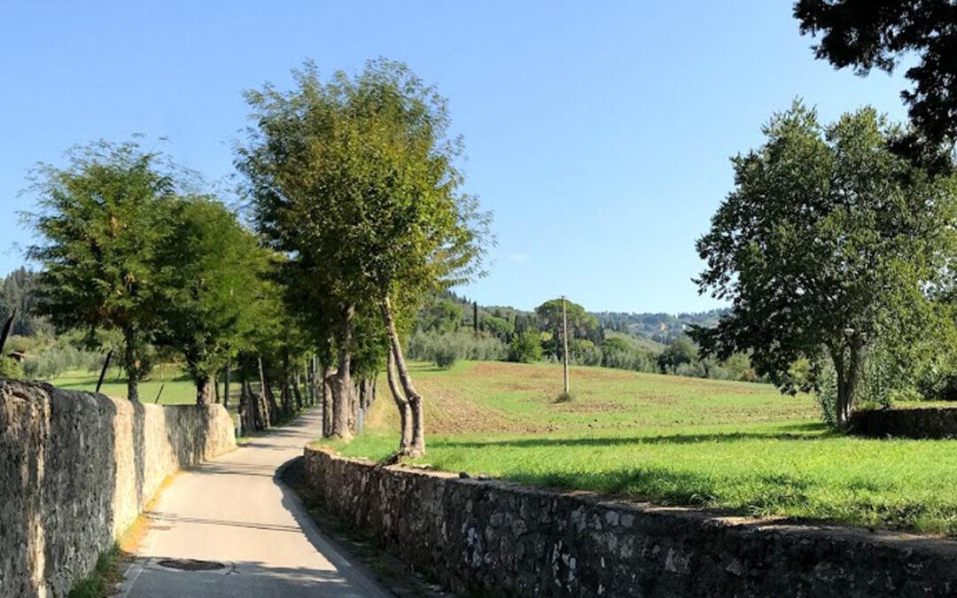 La valle del Mensola e l'antico borgo di Settignano