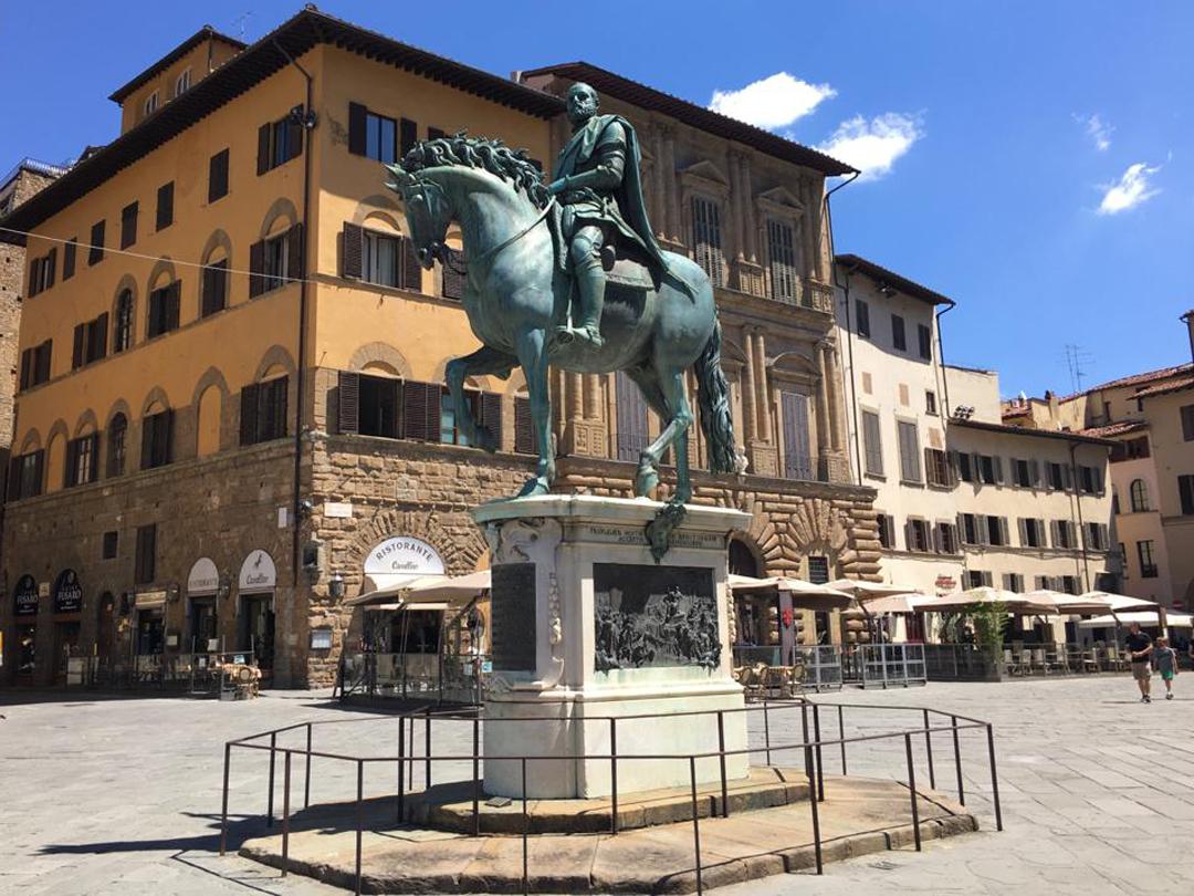 I monumenti equestri fiorentini