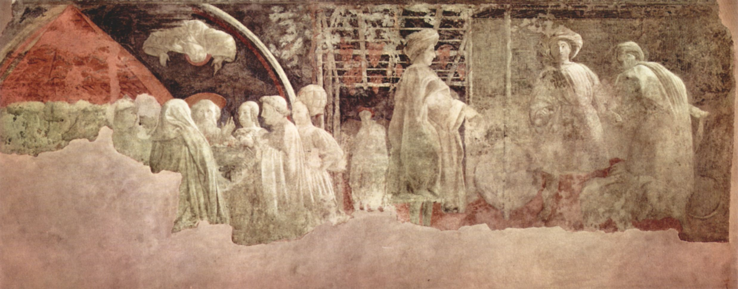 Paolo Uccello, Ebbrezza di Noè, Santa Maria Novella