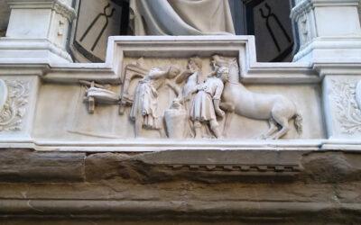 Orsanmichele: il miracolo del cavallo e dello zoccolo riattaccato