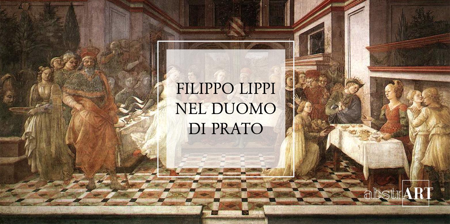 Filippo Lippi, Banchetto di Erode, Duomo di Prato