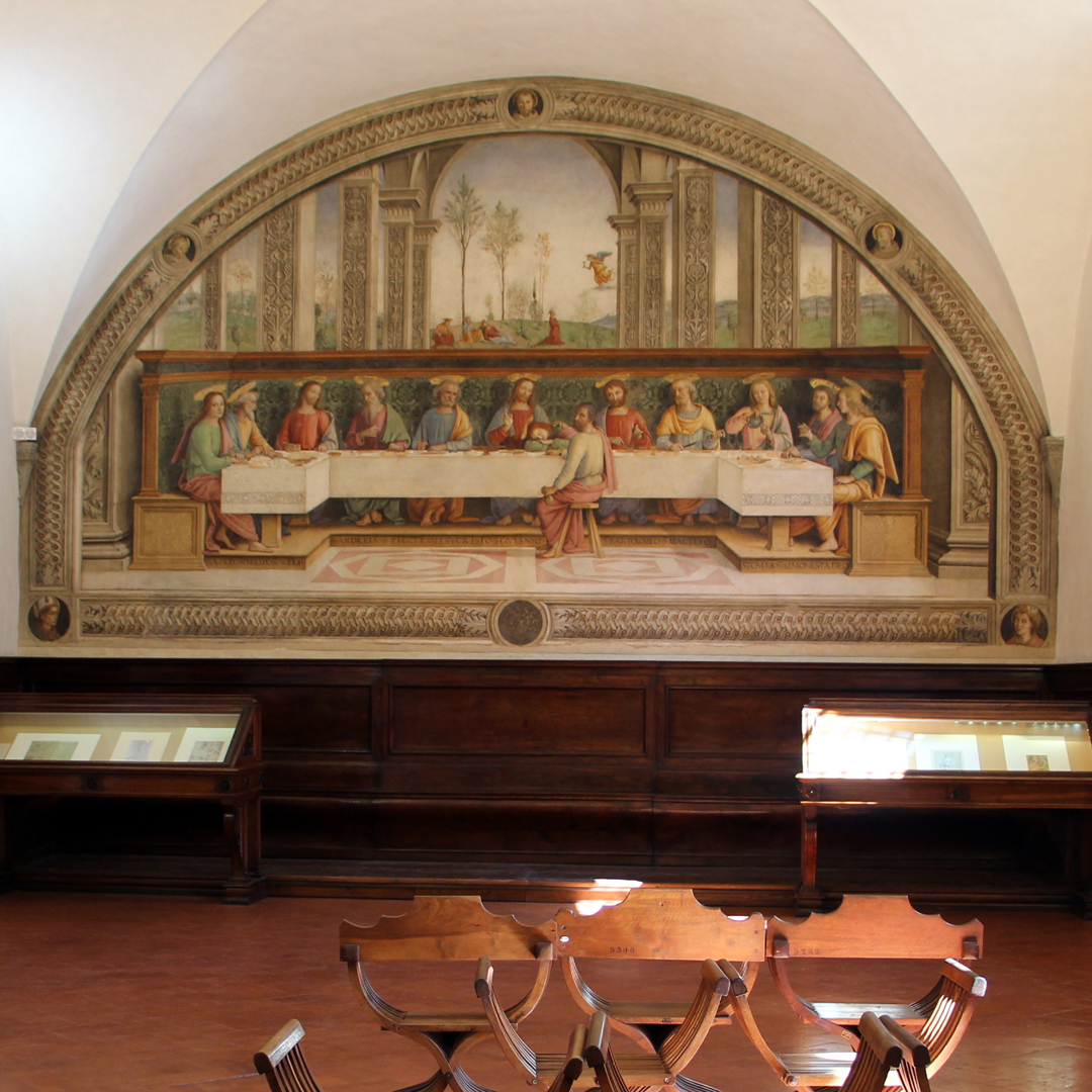 Perugino, Ultima Cena, Cenacolo del Fuligno