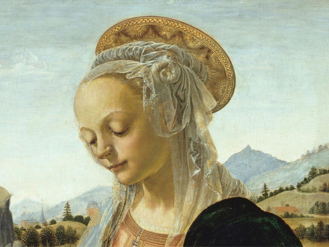 Verrocchio, Madonna con Bambino