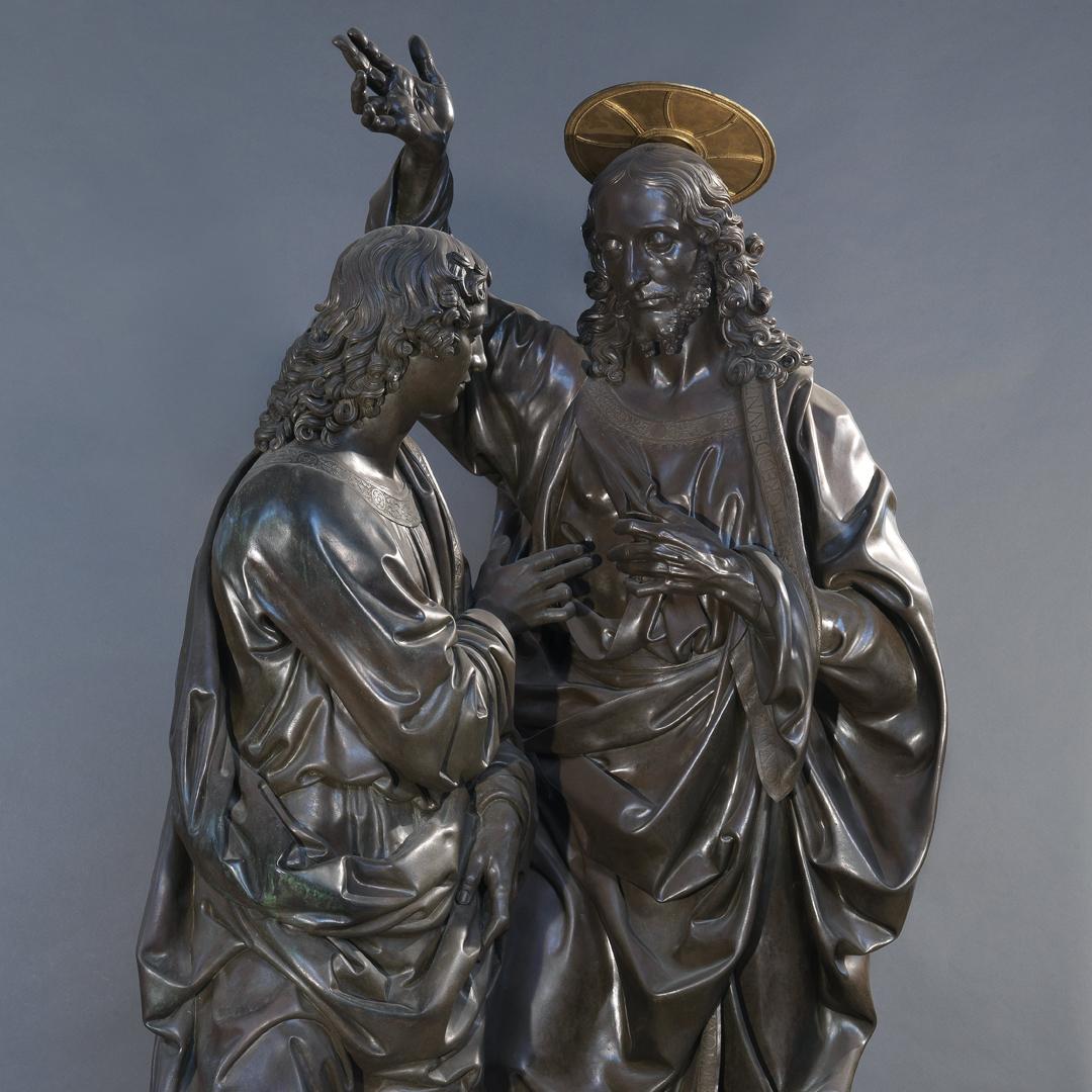 Andrea del Verrocchio, Incredulità di San Tommaso
