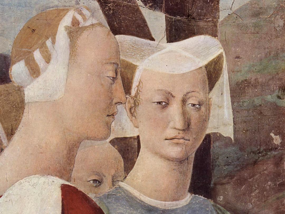 Piero della Francesca, Adorazione della Croce