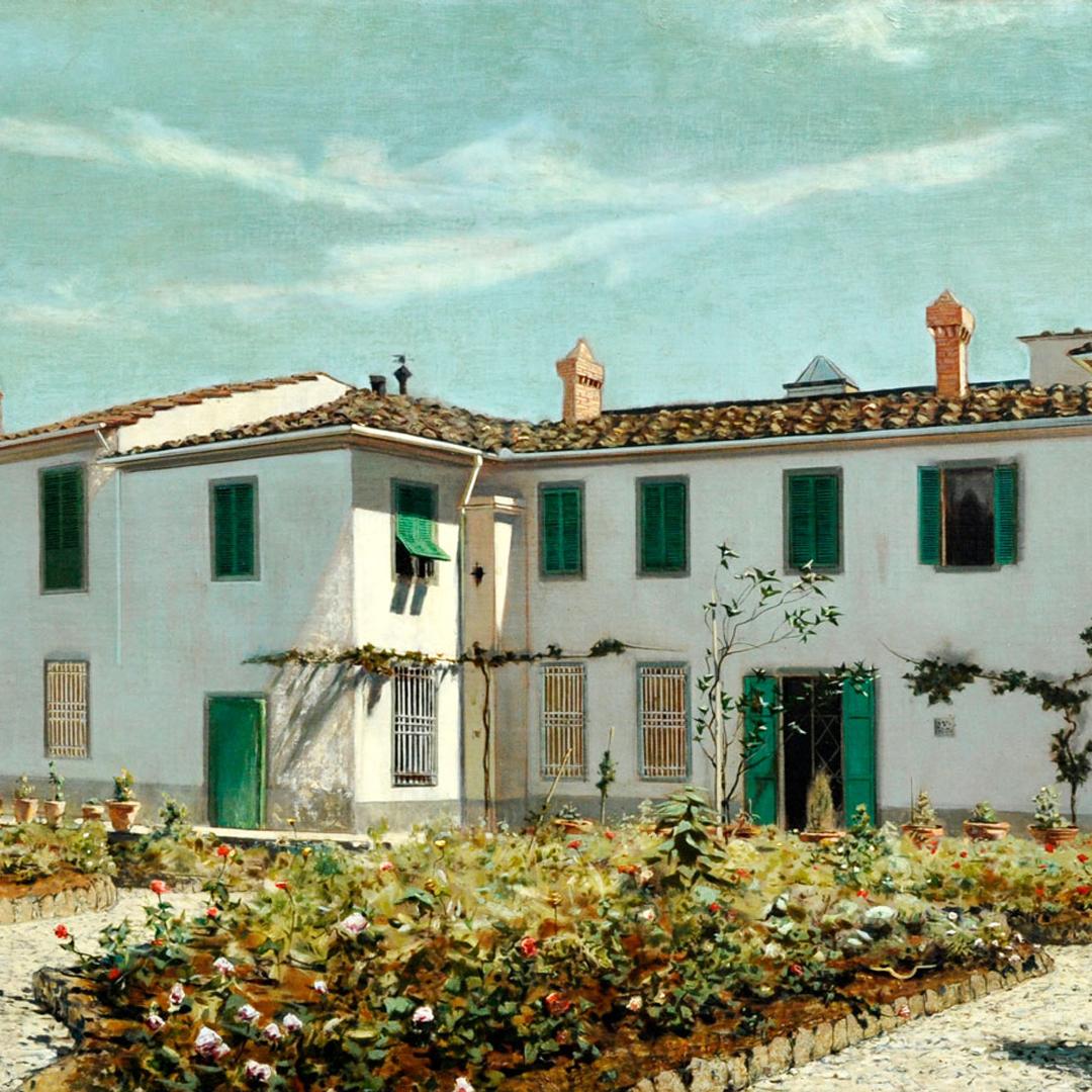 Telamaco Signorini, Villa toscana