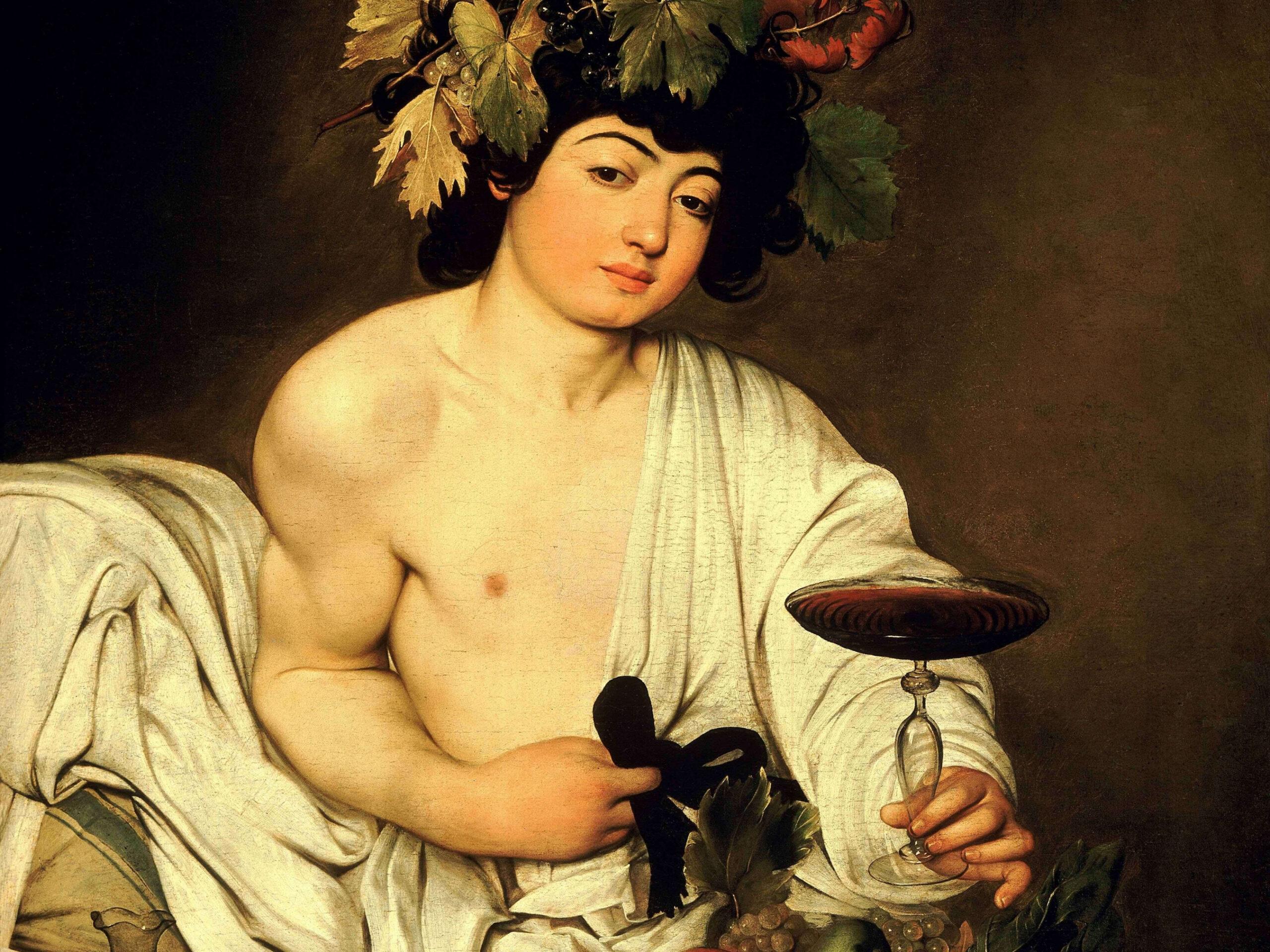 Caravaggio, Bacco