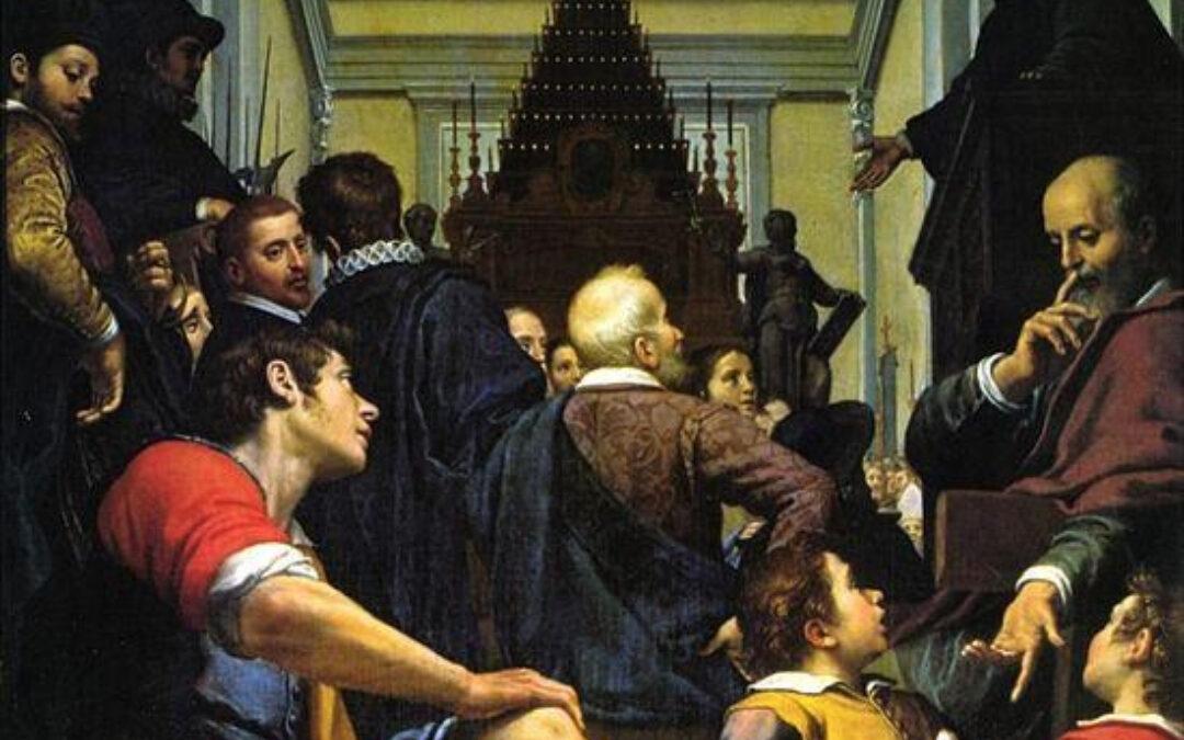 14 luglio 1564: le esequie di Michelangelo e il debutto dell'Accademia delle Arti del Disegno