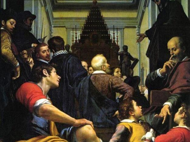 Agostino Ciampelli, Esequie di Michelangelo