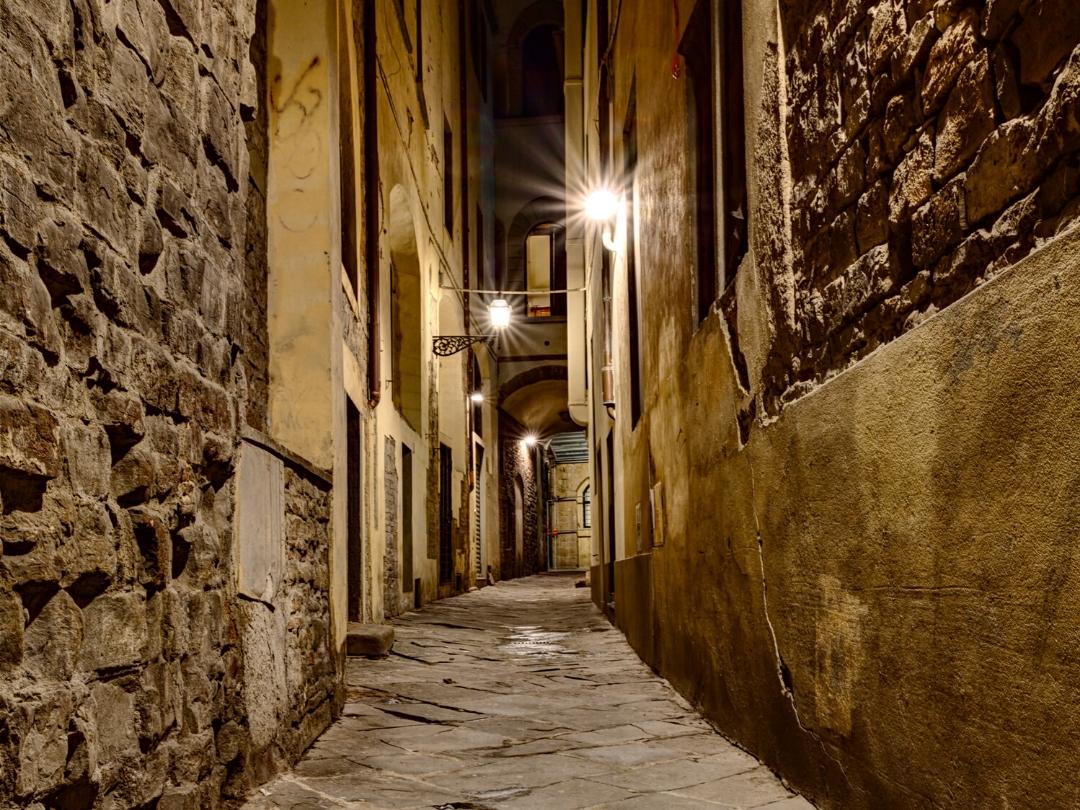Esplorando Firenze di notte