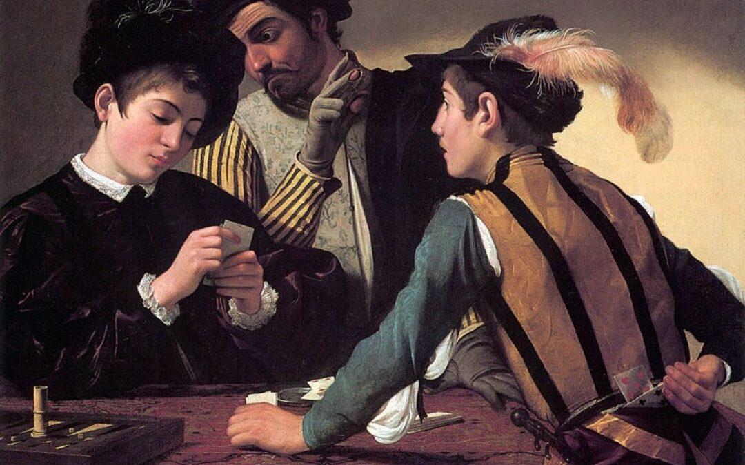Il gioco nell'arte tra Caravaggio e Cézanne