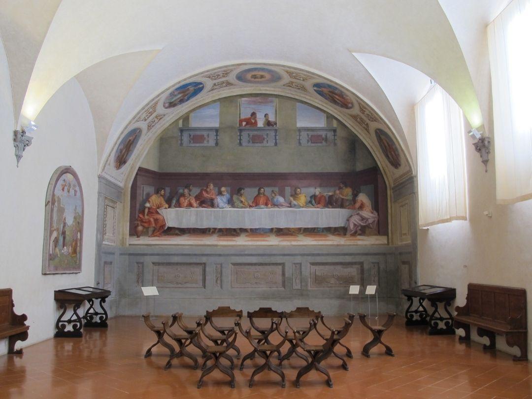 Il cenacolo di Andrea del Sarto